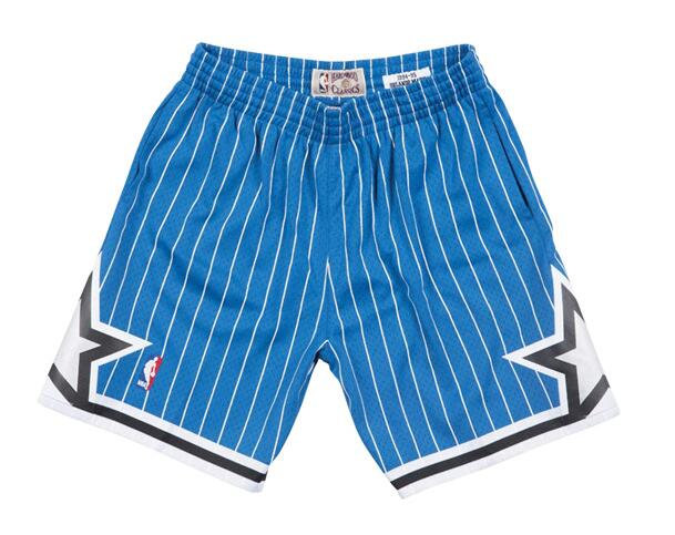 Magic Blue Hardwood Classics Shorts