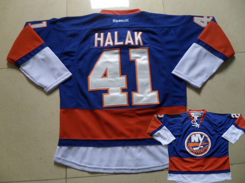 Islanders 41 Halak Blue Jersey