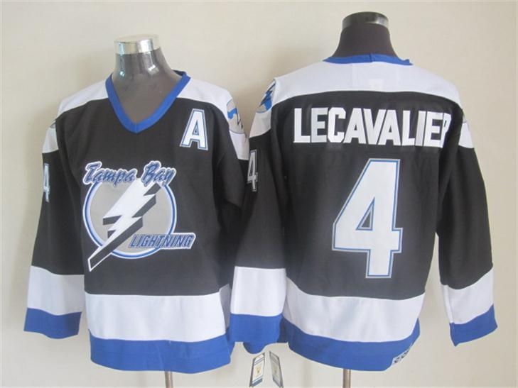 Lightning 4 Lecavalier Black CCM Jersey