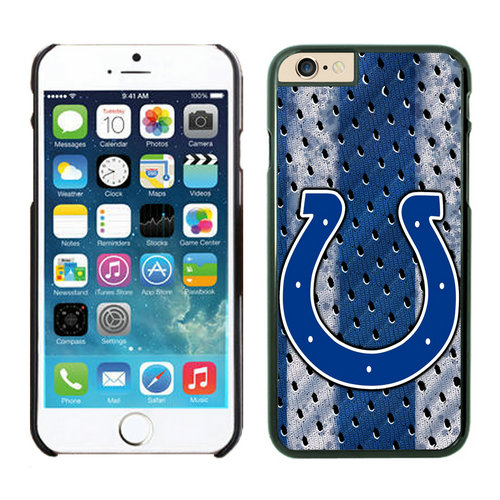 Indianapolis Colts iPhone 6 Plus Cases Black4
