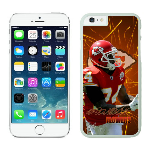 Kansas City Chiefs iPhone 6 Cases White7