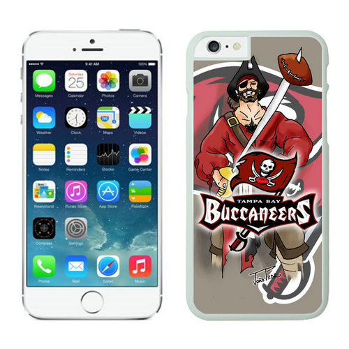 Tampa Bay Buccaneers iPhone 6 Cases White40