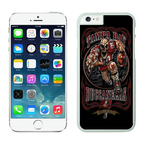 Tampa Bay Buccaneers iPhone 6 Cases White8
