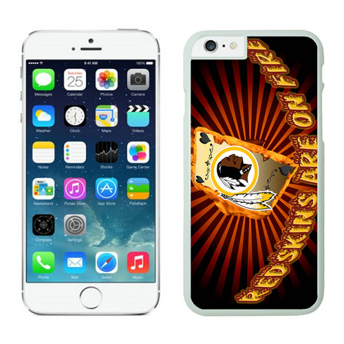 Washington Redskins iPhone 6 Plus Cases White13
