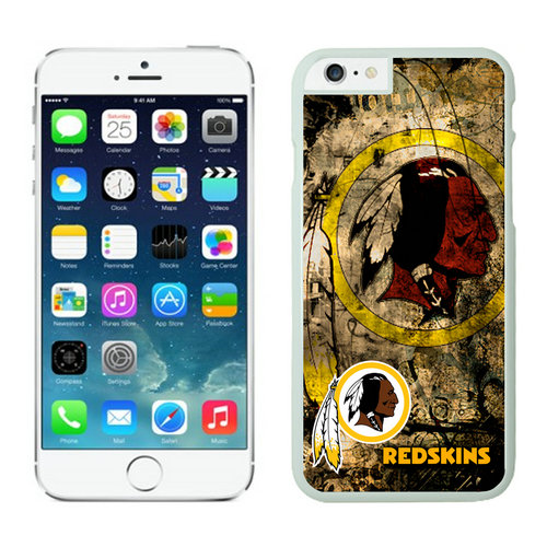 Washington Redskins iPhone 6 Plus Cases White16