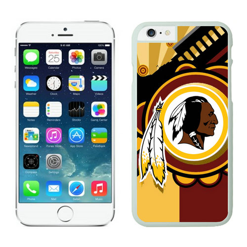 Washington Redskins iPhone 6 Plus Cases White20