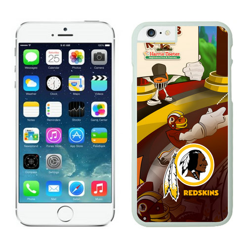 Washington Redskins iPhone 6 Plus Cases White28