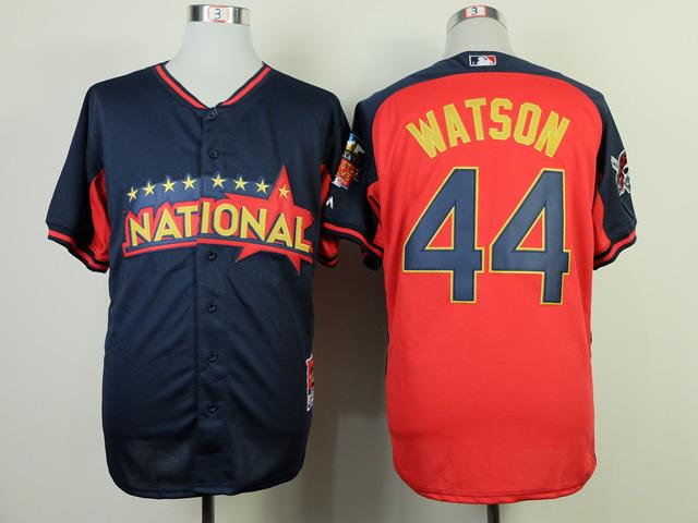 National League 44 Watson Red 2014 All Star Jerseys