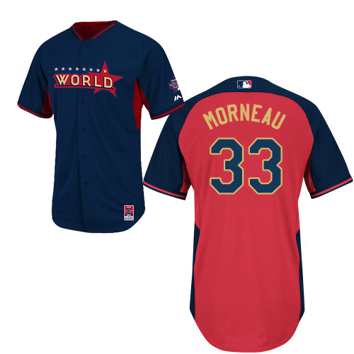 World 33 Morneau Blue 2014 Future Stars BP Jerseys