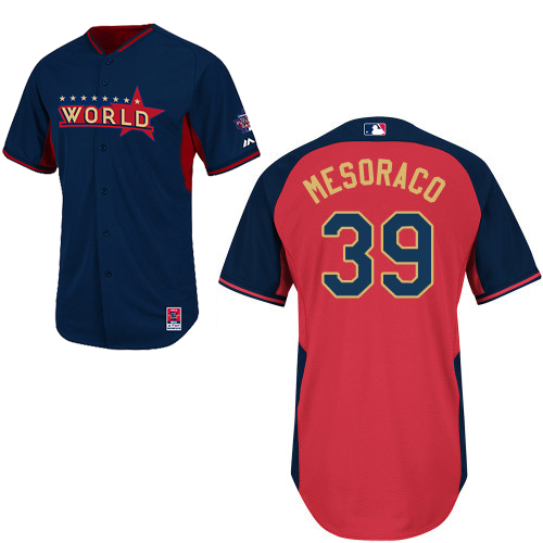 World 39 Mesoraco Blue 2014 Future Stars BP Jerseys