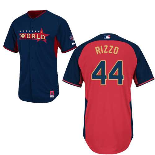 World 44 Rizzo Blue 2014 Future Stars BP Jerseys
