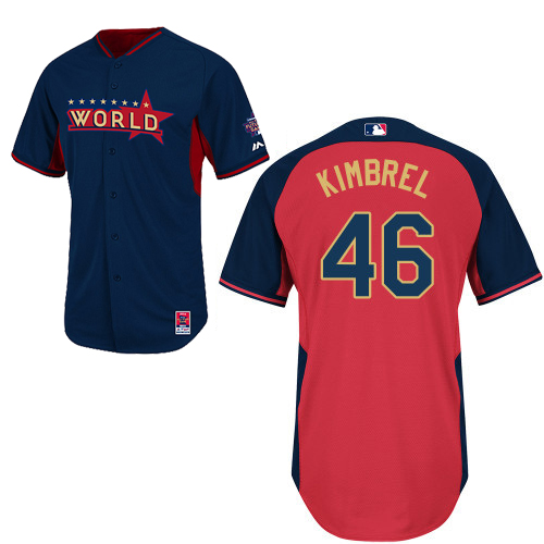 World 46 kimbrel Blue 2014 Future Stars BP Jerseys
