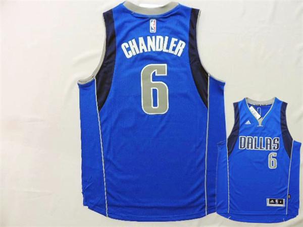 Mavericks 6 Chandler Royal Blue New Revolution 30 Jerseys
