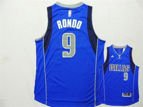 Mavericks 9 Rondo Royal Blue New Revolution 30 Jerseys