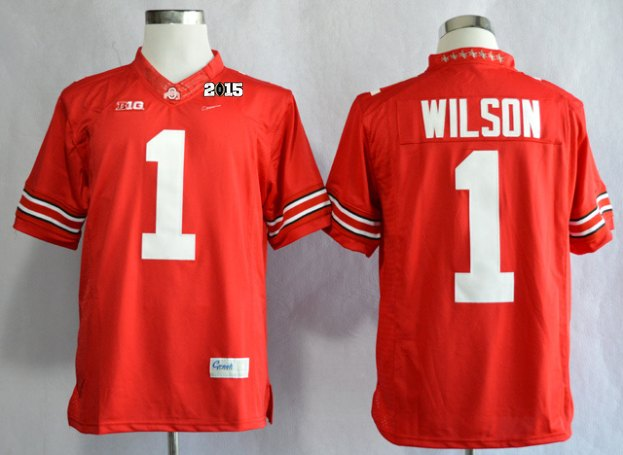 Ohio State Buckeyes 1 Dontre Wilson Red Limited NCAA 2015 Playoff Championship Jerseys