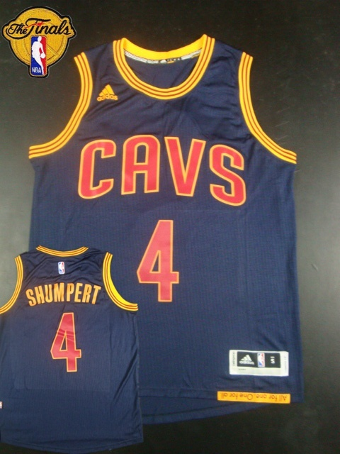 Cavaliers 4 Shumpert Blue 2015 NBA Finals New Rev 30 Jersey