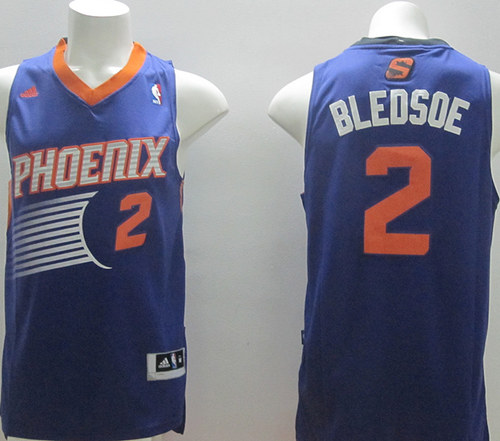 Suns 2 Bledsoe Purple New Revolution 30 Swingman Jerseys