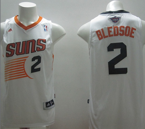 Suns 2 Bledsoe White New Revolution 30 Swingman Jerseys