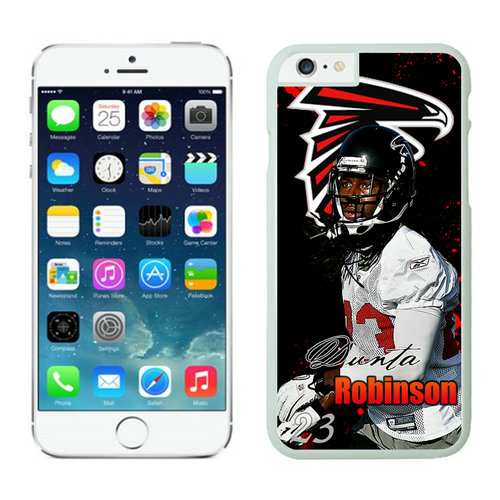 Atlanta Falcons iPhone 6 Cases White6
