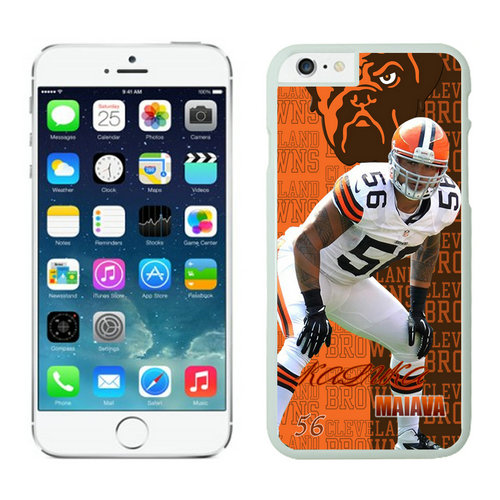 Cleveland Browns Iphone 6 Plus Cases White17