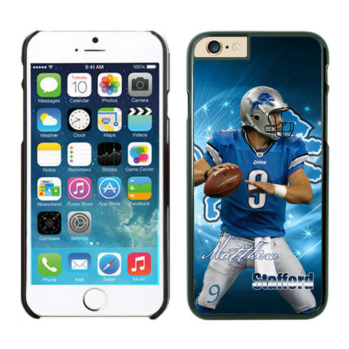 Detroit Lions iPhone 6 Cases Black9