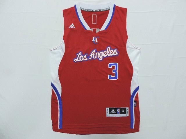 Clippers 3 Paul Red New Revolution 30 Jersey