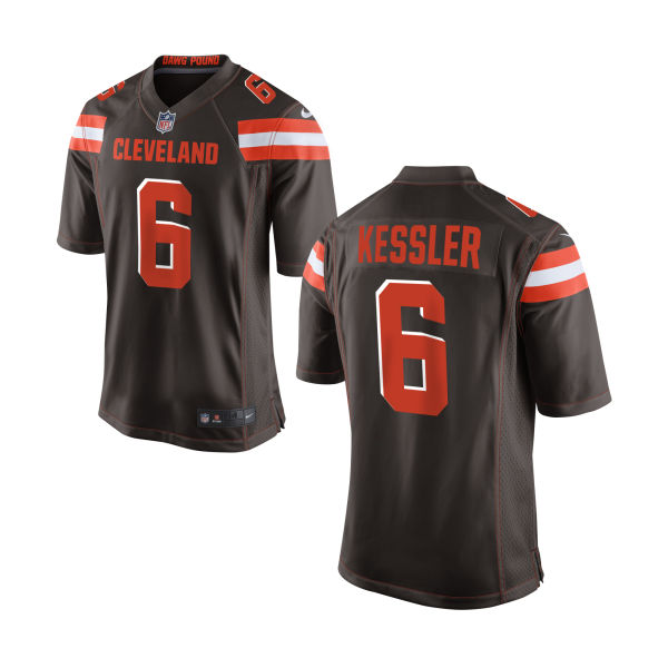 Nike Browns 6 Cody Kessler Brown Youth Game Jersey