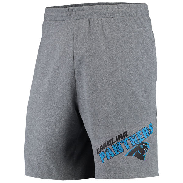 Carolina Panthers Concepts Sport Tactic Lounge Shorts Heathered Gray