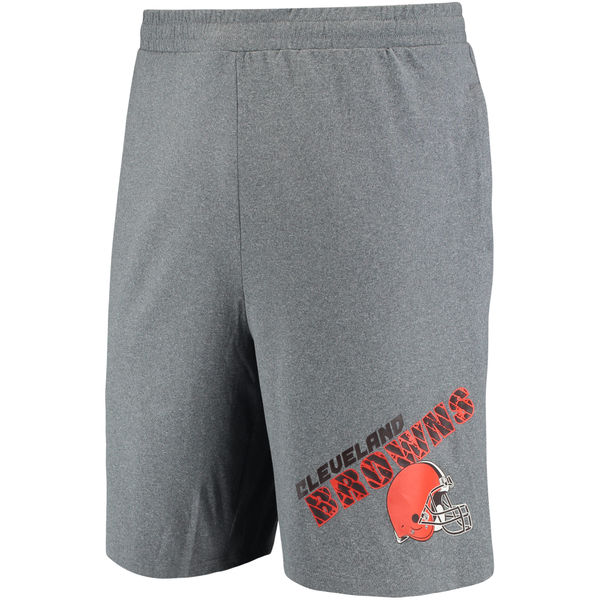 Cleveland Browns Concepts Sport Tactic Lounge Shorts Heathered Gray
