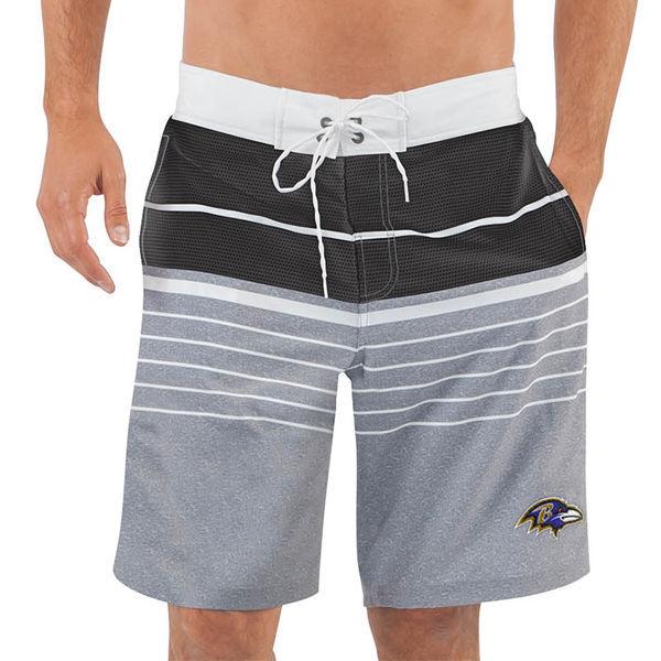Baltimore Ravens NFL G-III Balance Men's Boardshorts Swim Trunks