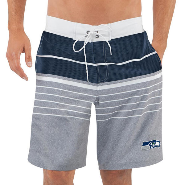 Seattle Seahawks NFL G-III Balance Men's Boardshorts Swim Trunks