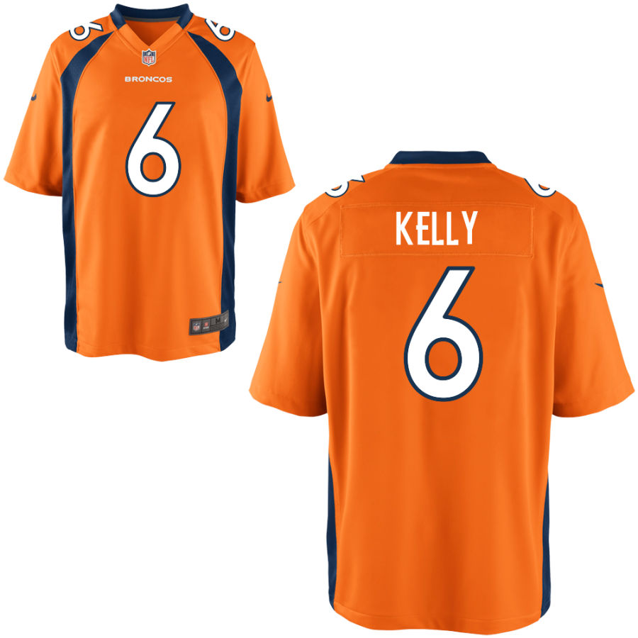 Nike Broncos 6 Chad Kelly Orange Elite Jersey