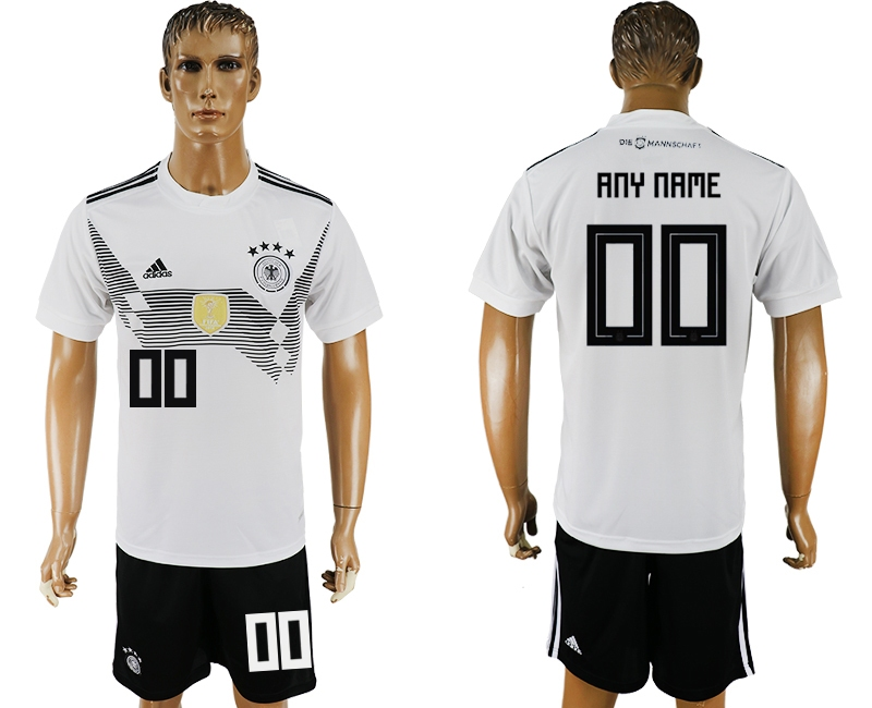 Germany Home 2018 FIFA World Cup Men's Customized Jersey