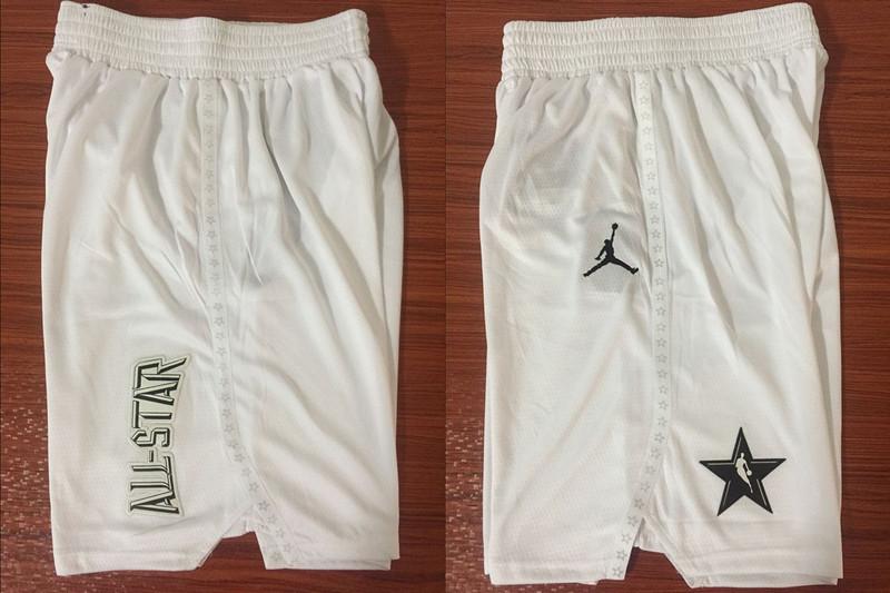 NBA White Jordan Swingman 2018 All-Star Shorts
