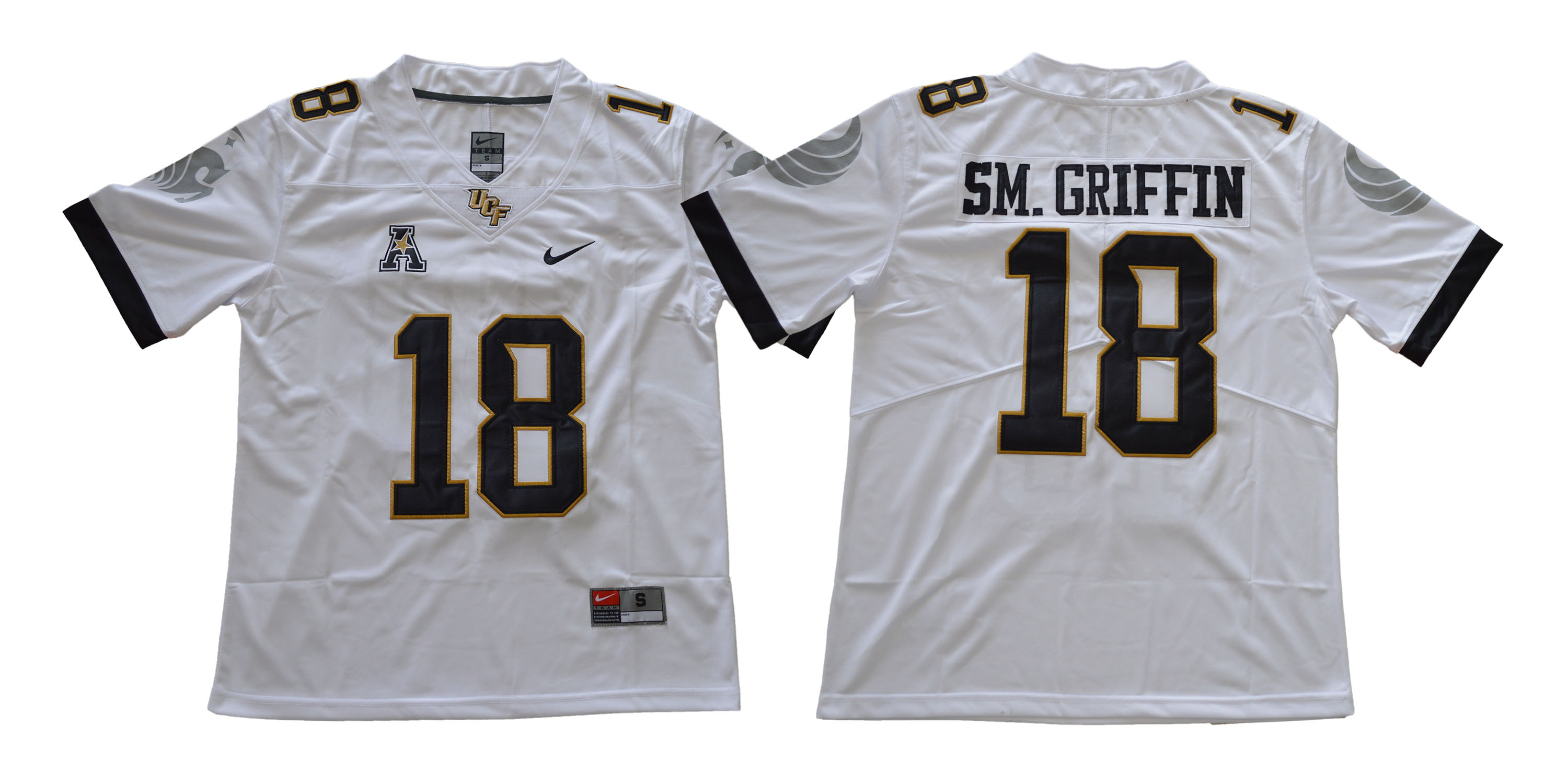 UCF Knights 18 Shaquem Griffin White College Football Jersey