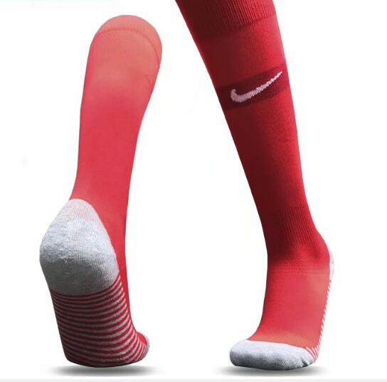 England Away Youth 2018 FIFA World Cup Thailand Soccer Socks