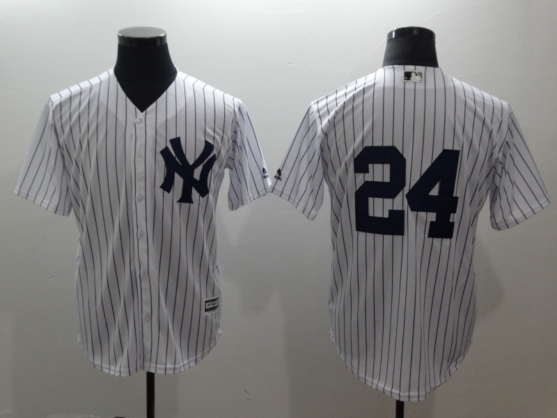 Yankees 24 Gary Sanchez White Cool Base Jersey