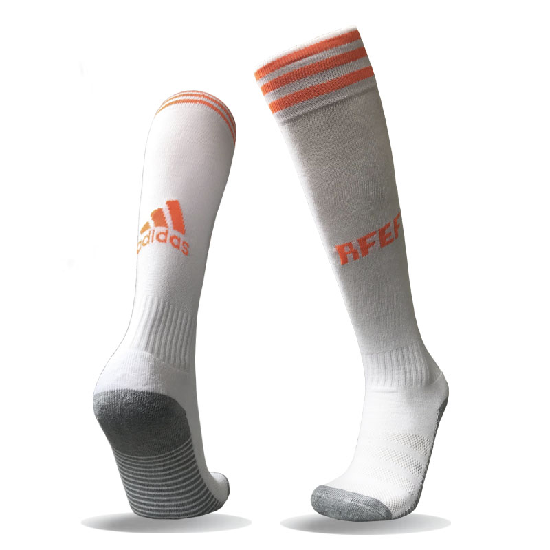 Spain Away Youth 2018 FIFA World Cup Thailand Soccer Socks