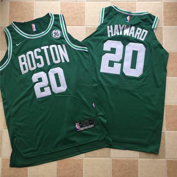 Celtics 20 Gordon Hayward Green Nike Authentic Jersey