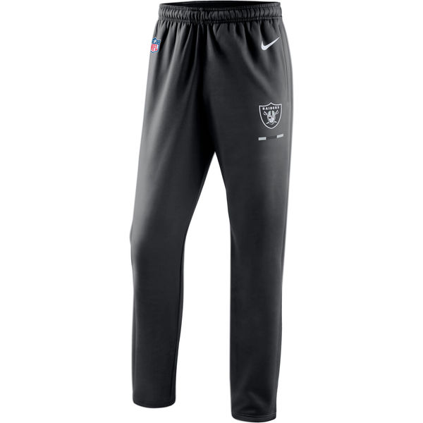 Oakland Raiders Nike Sideline Team Logo Performance Pants Black