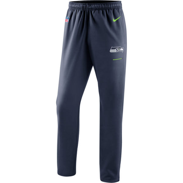 Seattle Seahawks Nike Sideline Team Logo Performance Pants Navy