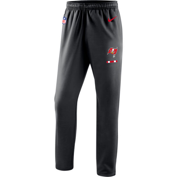 Tampa Bay Buccaneers Nike Sideline Team Logo Performance Pants Black