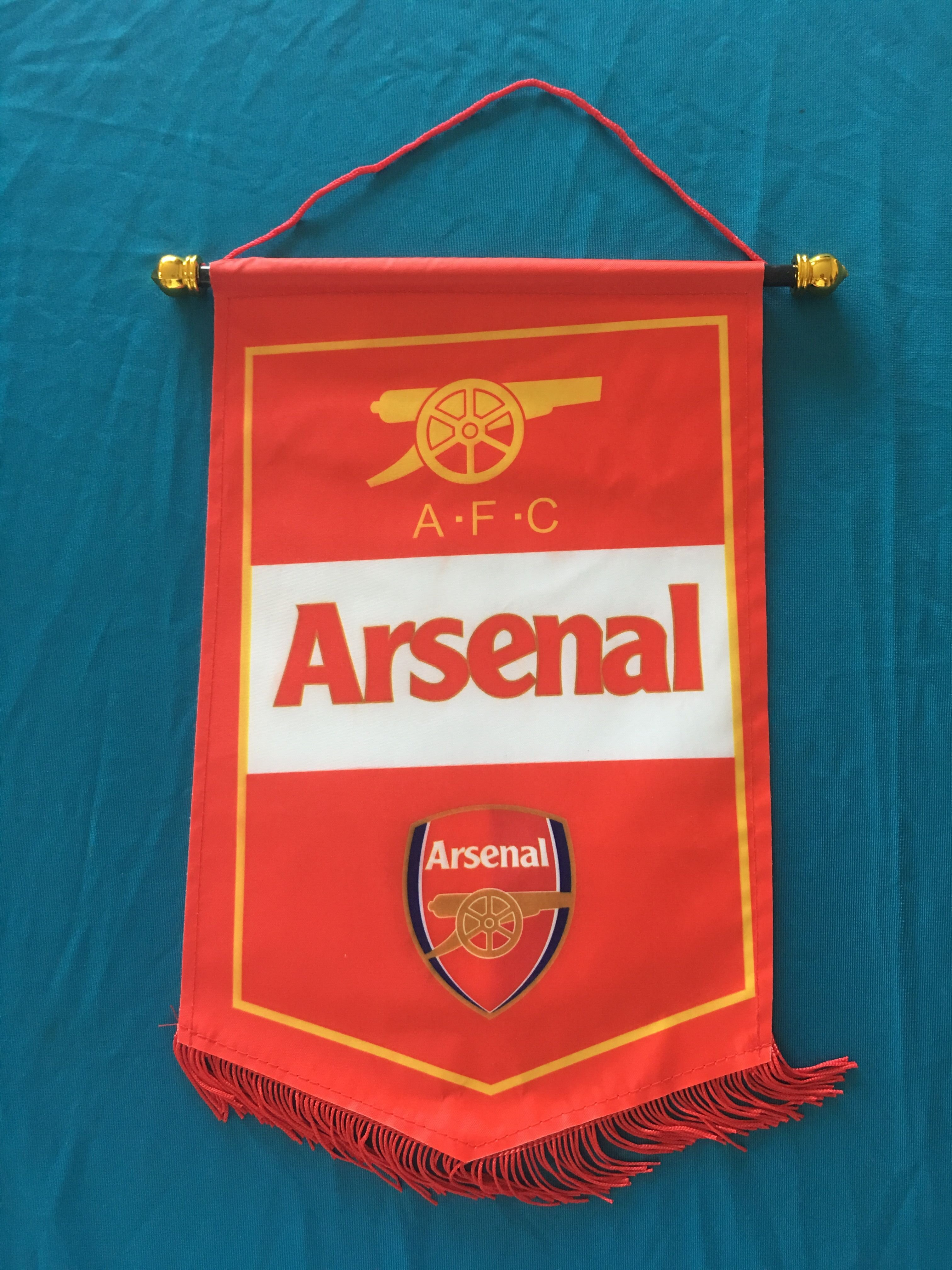 Arsenal Hang Flag Decor Football Fans Souvenir