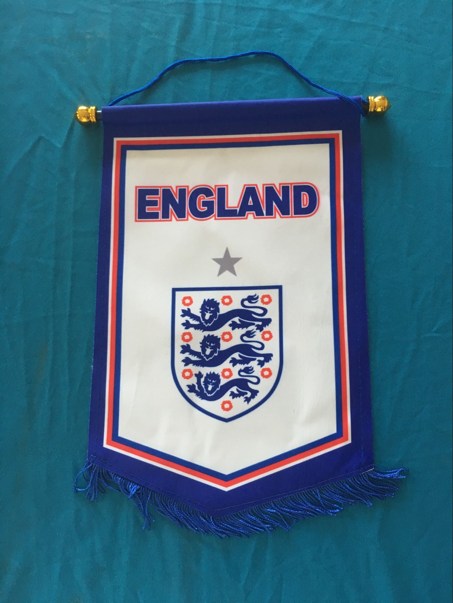 England Hang Flag Decor Football Fans Souvenir