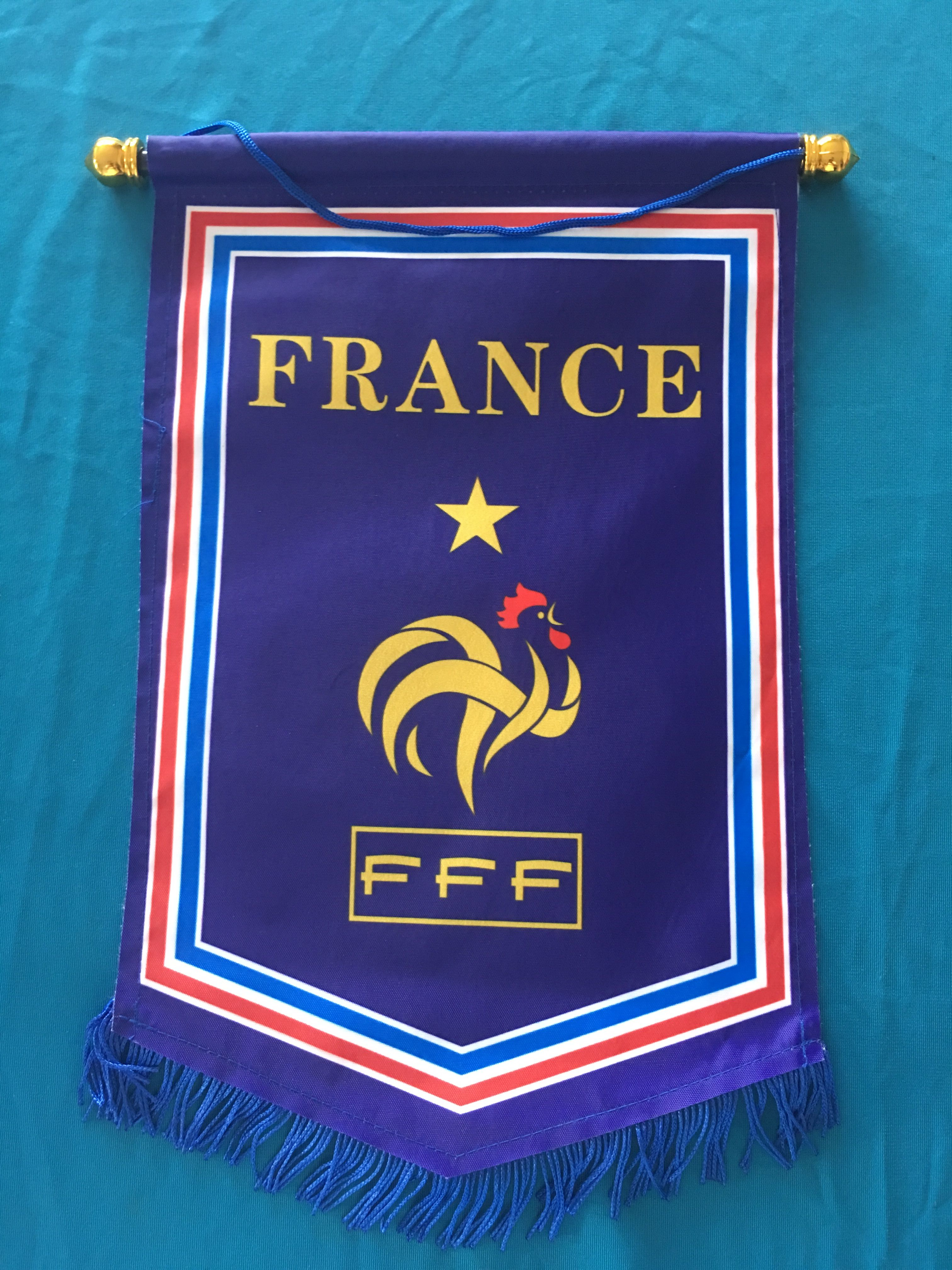 France Hang Flag Decor Football Fans Souvenir