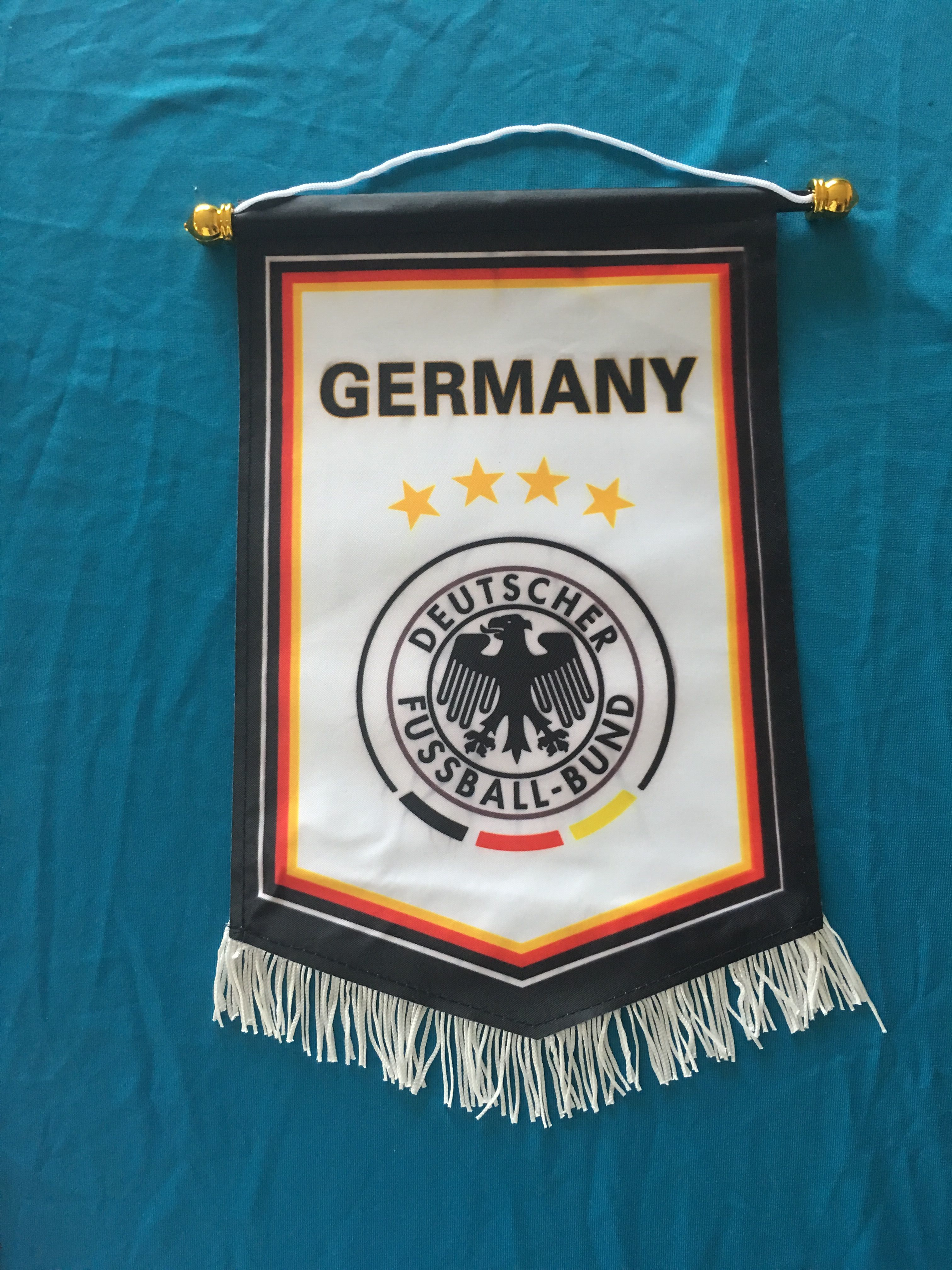 Germany Hang Flag Decor Football Fans Souvenir