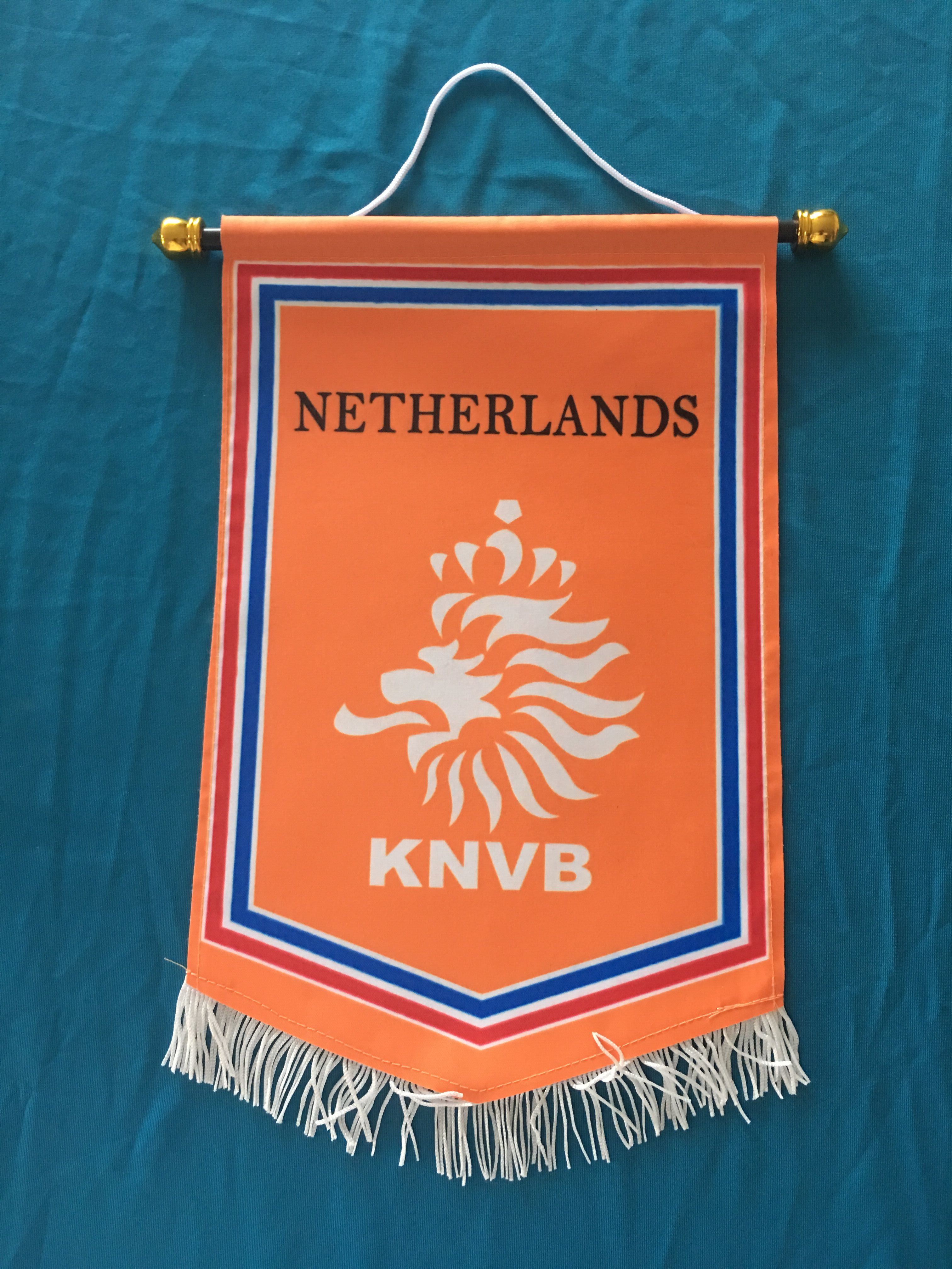 Netherlands Hang Flag Decor Football Fans Souvenir