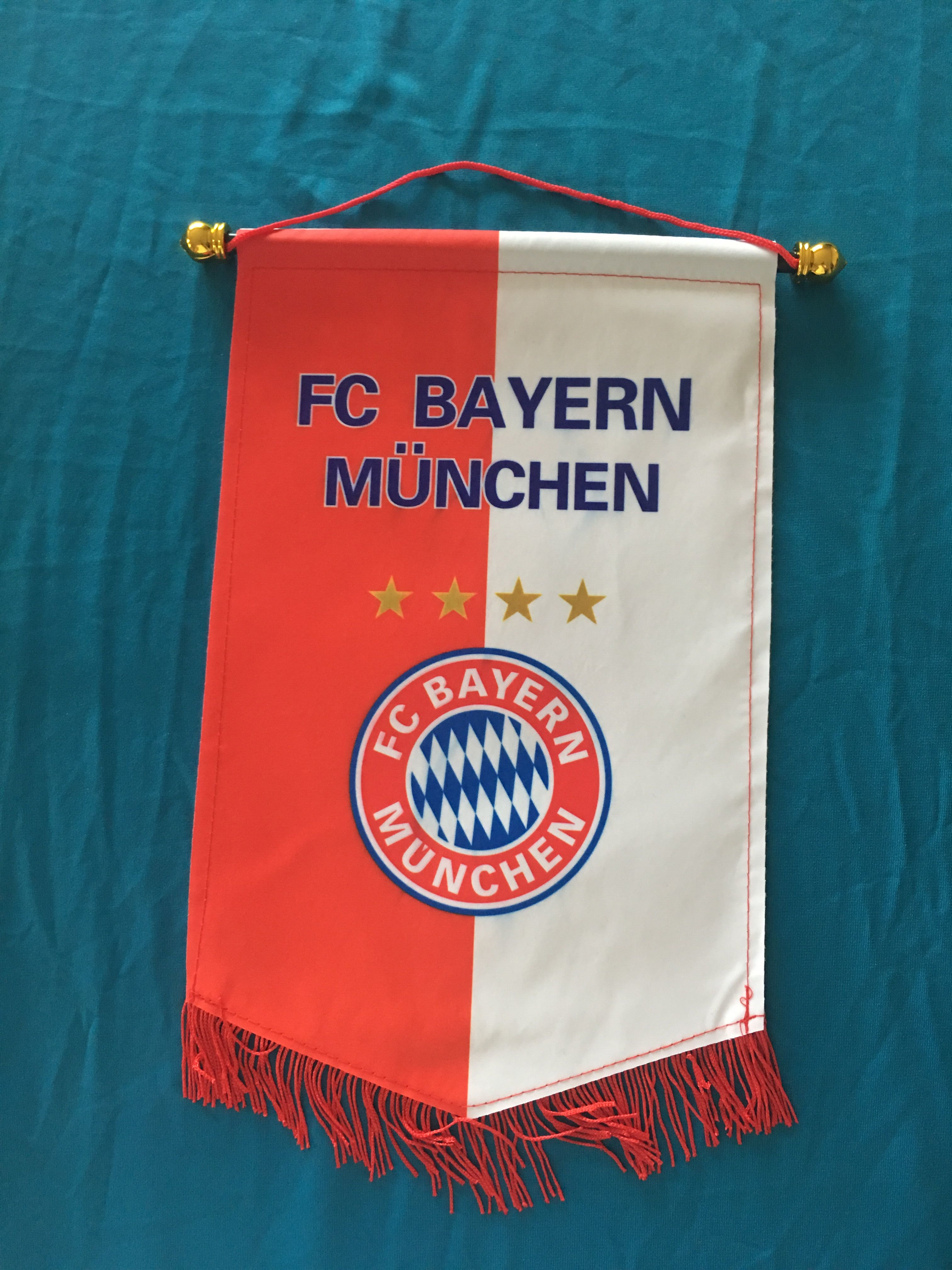 Bayern Hang Flag Decor Football Fans Souvenir