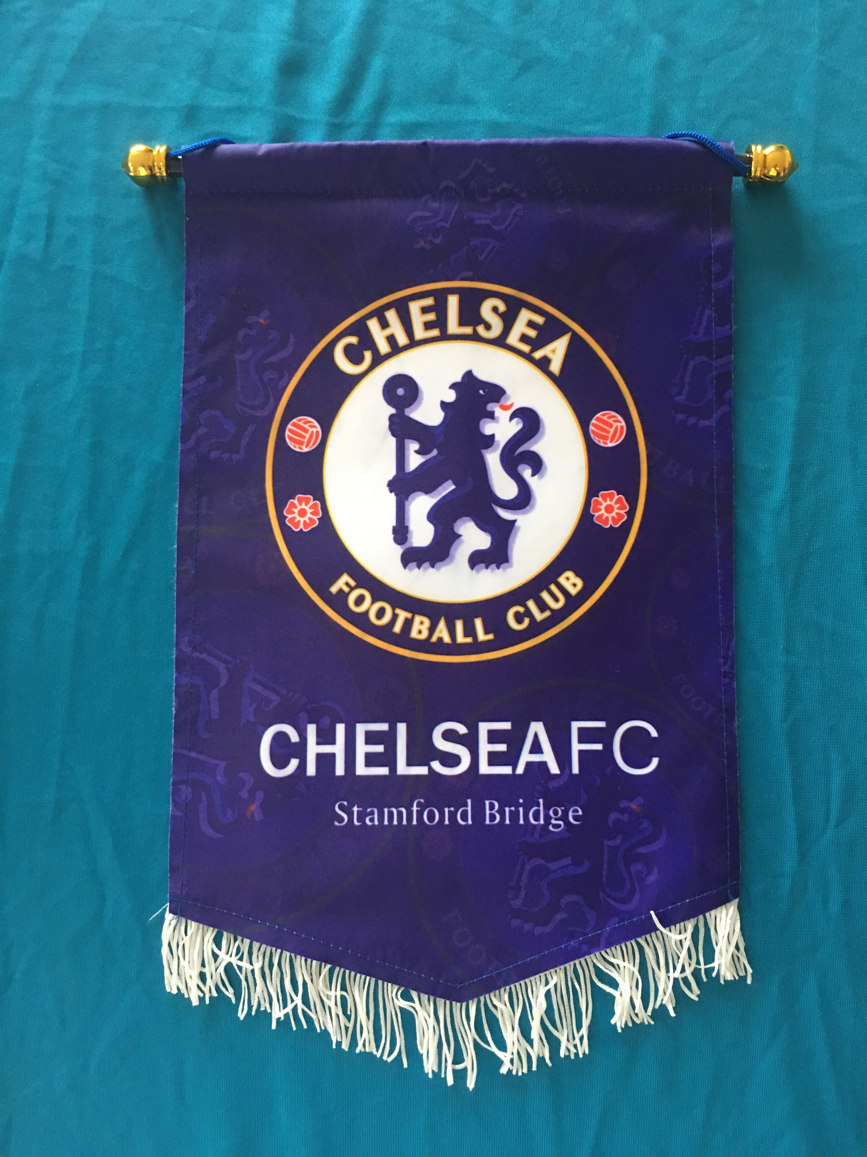 Chelsea Hang Flag Decor Football Fans Souvenir
