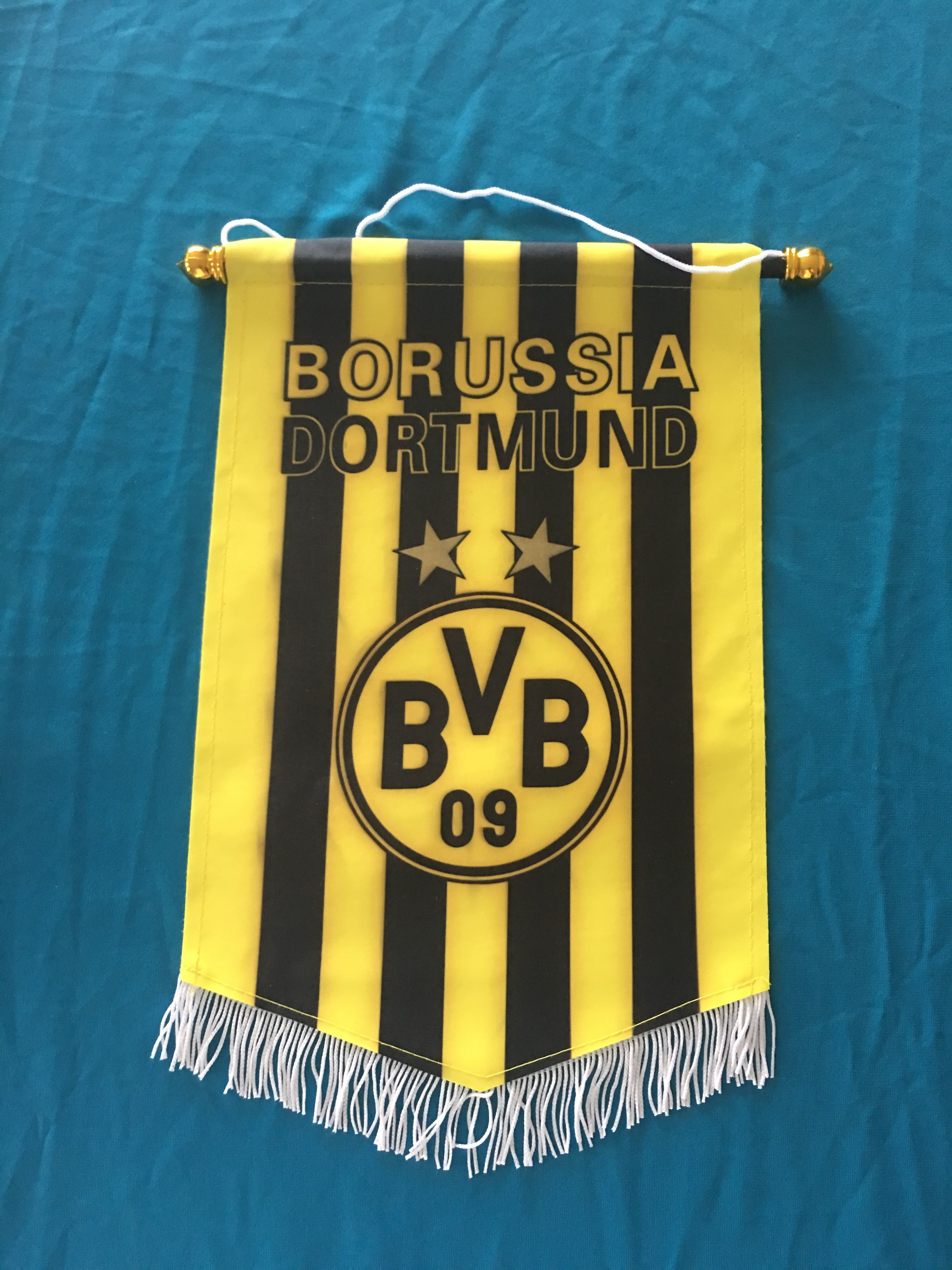 Dortmund Hang Flag Decor Football Fans Souvenir